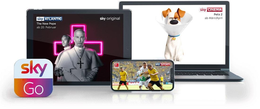 Sky Go - Streaming Geräte