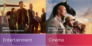 Sky Entertainment + Cinema