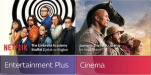 Sky Entertainment Plus + Cinema